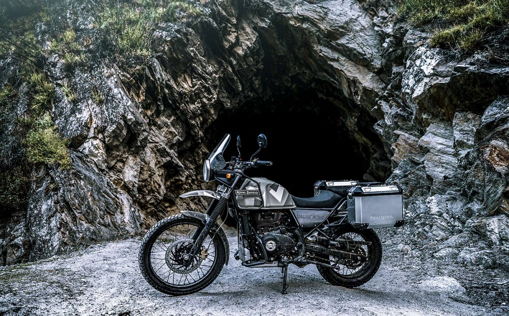 RoyalEnfield him cave